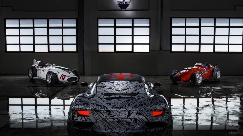 Tributo a Stirling Moss - Maserati