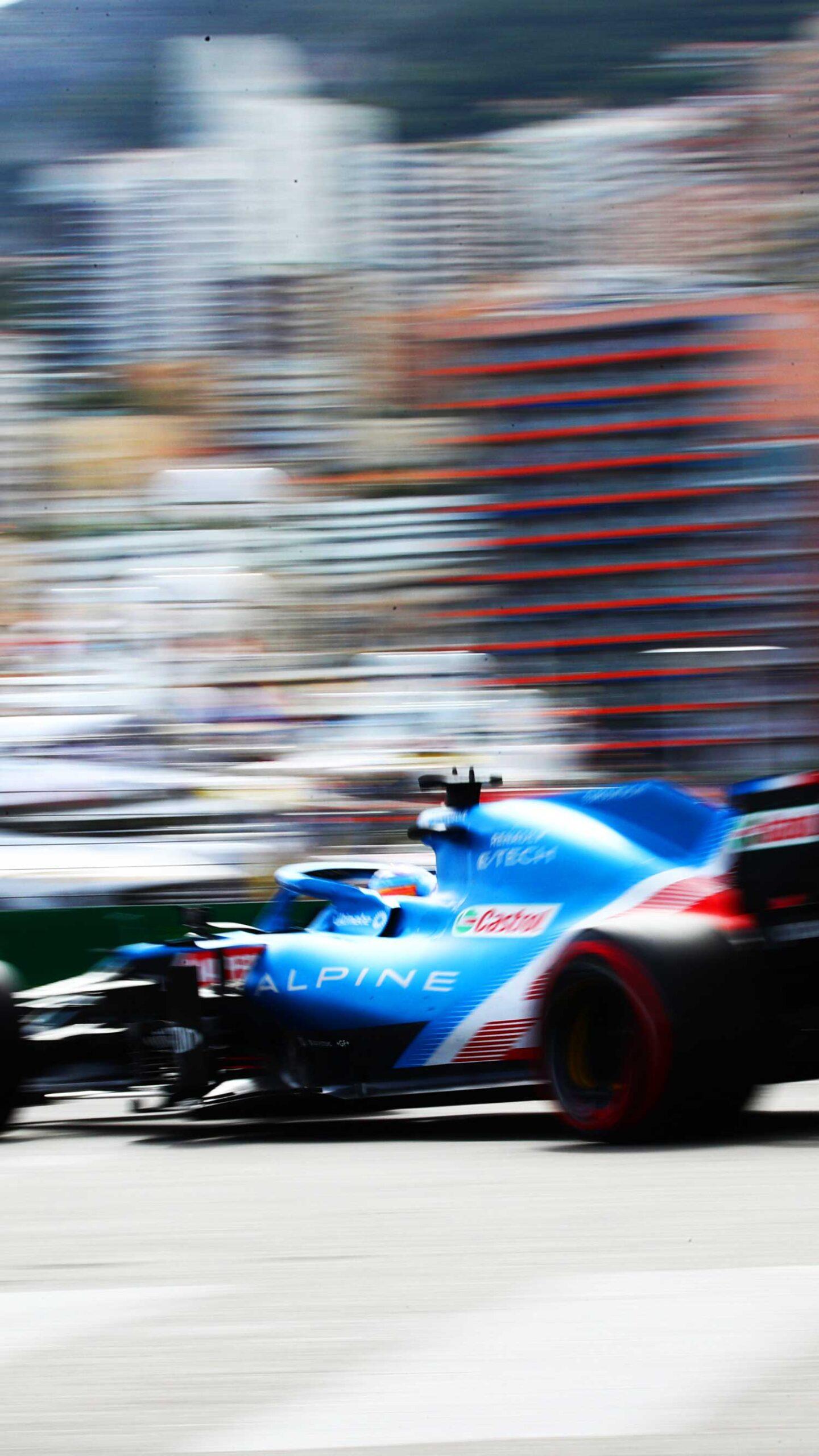 Alpine F1 Team em Mônaco