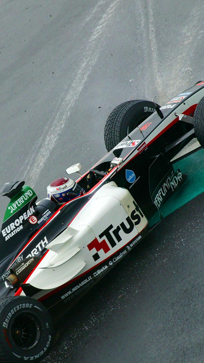 Verstappen chegou a rodar antes de fazer a pole (WRI.net)
