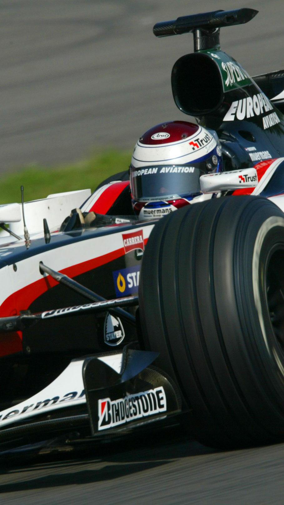 Verstappen deixou a F1 no fim de 2003 (WRI.net)