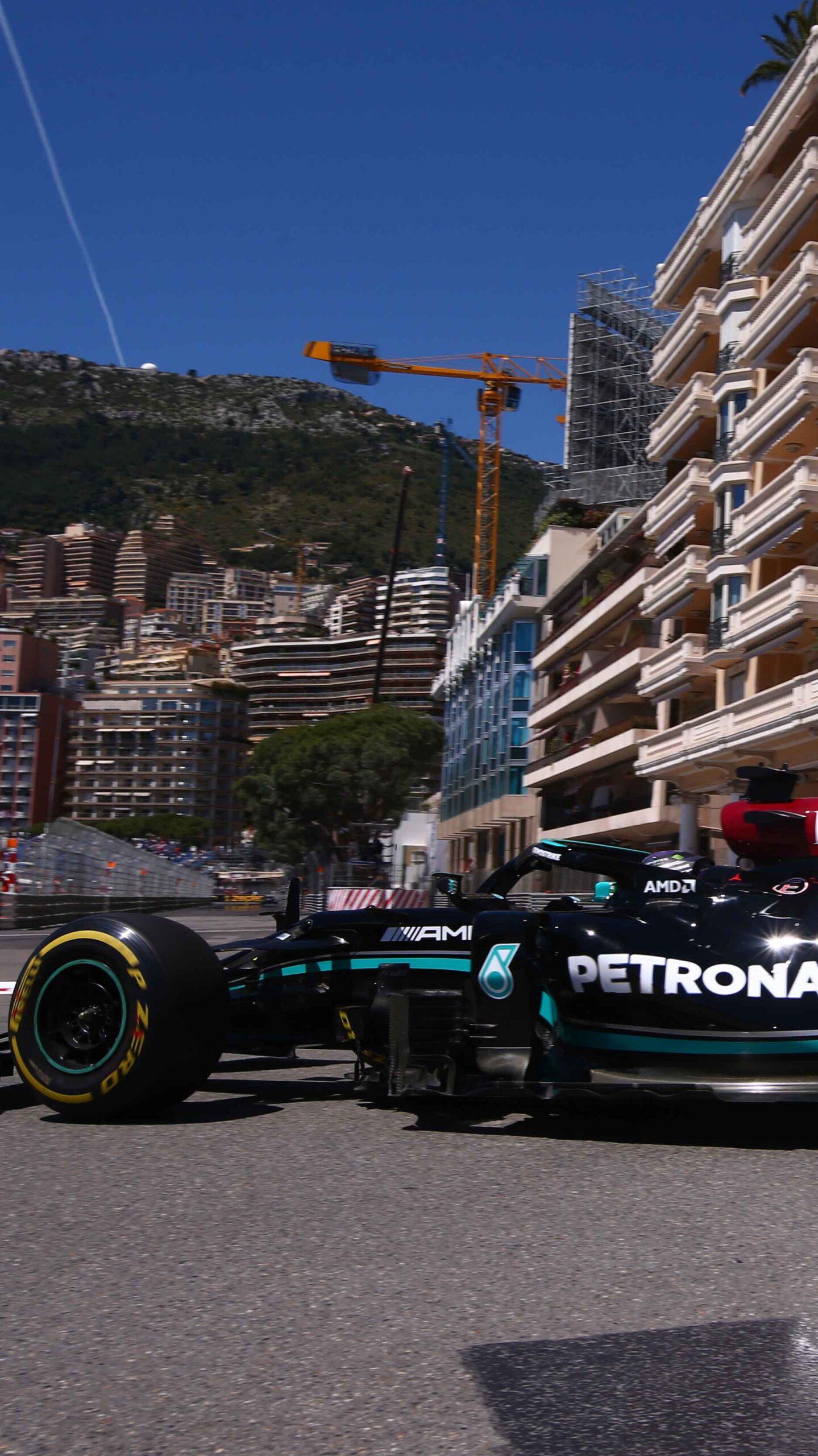 Bottas em Monte Carlo